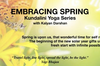 Embracing Spring Kundalini Yoga Series