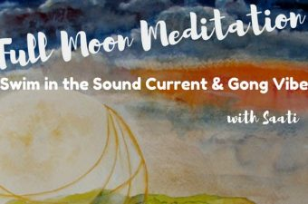 Full Moon Meditation | Swim in the Sound Current