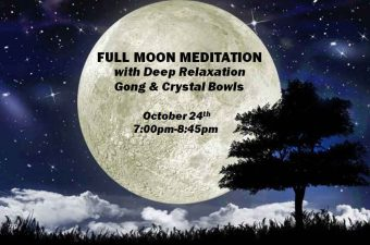Full Moon Meditation with Deep Relaxation, Gong & Crystal Bowls