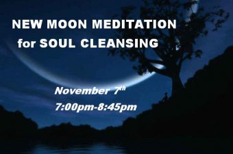 New Moon Meditation for Soul Cleansing
