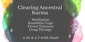 All events for Clearing Ancestral Karma with Saati
